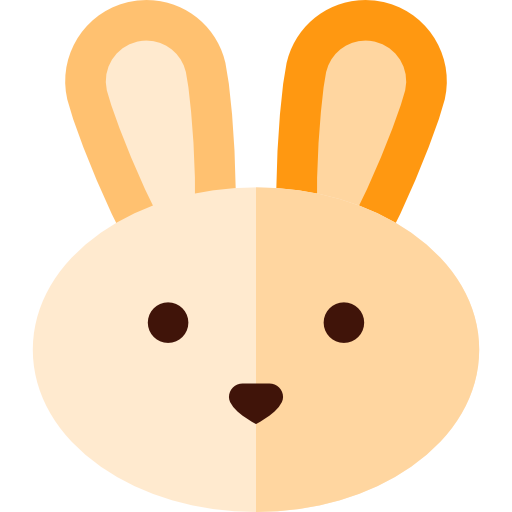 Rabbit, Easter Eggs, Easter, Bunny Icon