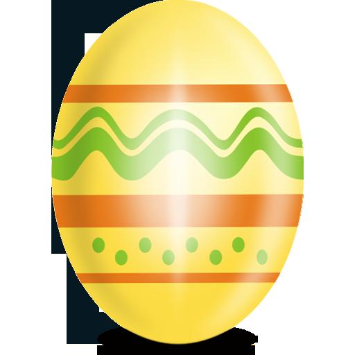 Yellow Egg Icon, Comes