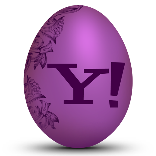 Yahoo Easter Egg Icon Free Icons Download