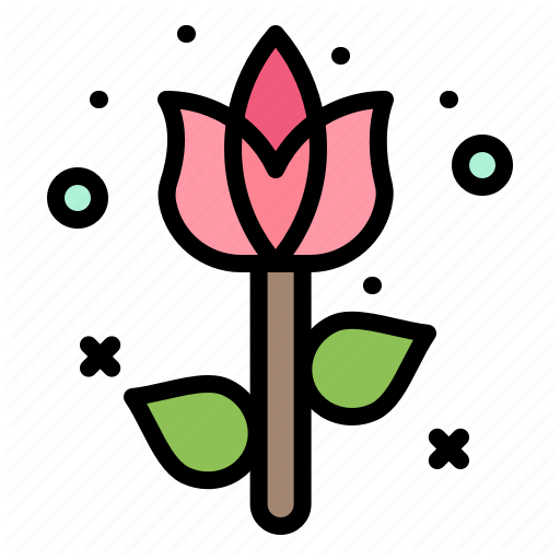 Decoration, Easter, Flower, Plant Icon