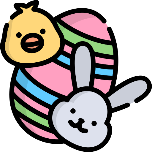 Easter Egg Chicken Png Icon