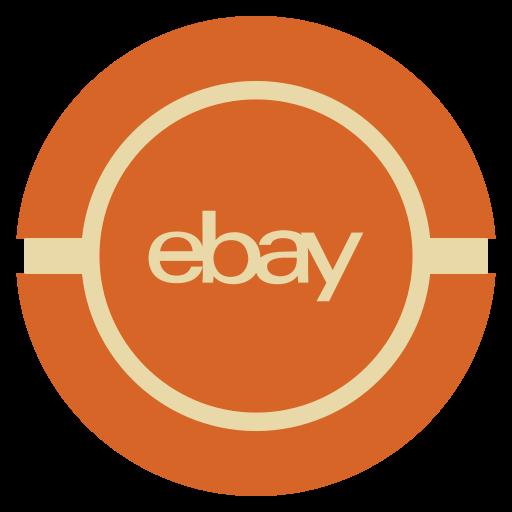 Ebay, Media, Social, Vintage Icon
