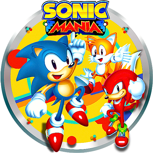 Game And Program Icons Sonic Mania