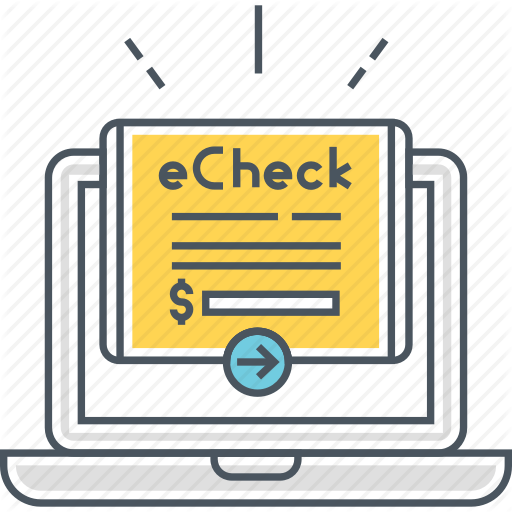 Check, Cheque, Echeck, Electronic Check, Electronic Cheque, Online