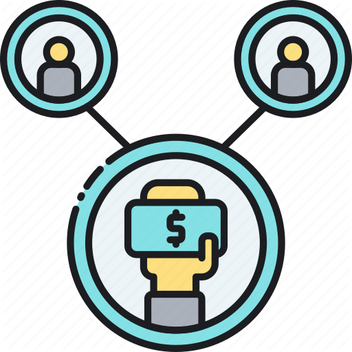 Economy, Peer, Peer To Peer, Sharing, Sharing Economy Icon