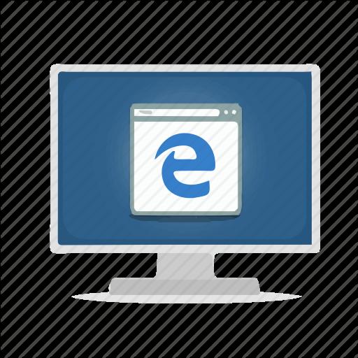 Browser, Computer, Display, Edge, Internet Icon