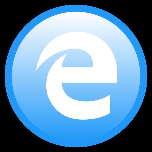 Browser, Edge, Microsoft Icon
