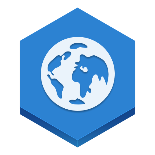 Browser Icon Hex Iconset