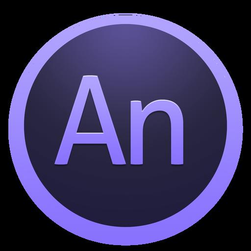 Adobe Edge Animate Icon Yosemite Adobe Cc Dark Iconset