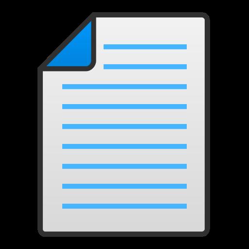 Document, Text, Regular Icon Free Of Snipicons Regular