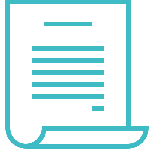 Paper, Writing, Document, Contract, Text Icon Free Of Construction