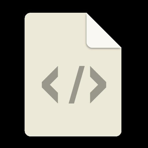 Text, Xml Icon Free Of Super Flat Remix Mimetypes