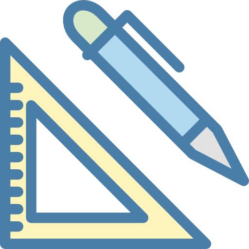 Triangle, Ruler, Pencil, Sciencie Icon Free Of Science Flat Line Icons
