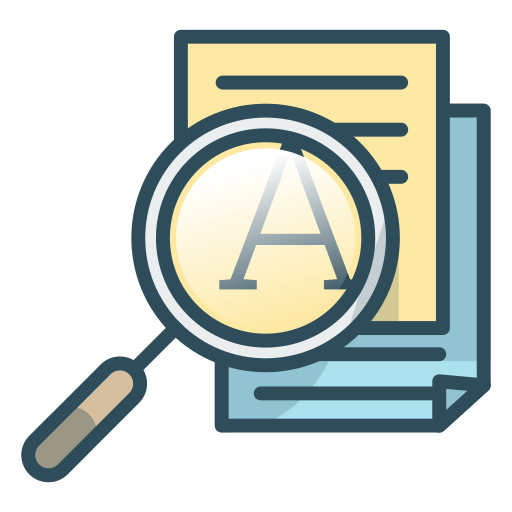 Search, Text, Document, Icon Free Of Office