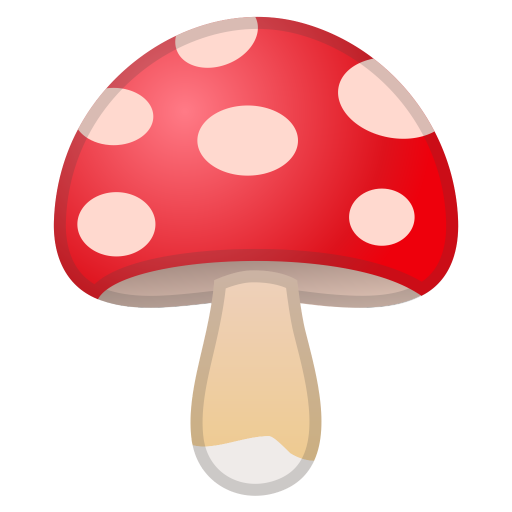 Mushroom Icon Noto Emoji Food Drink Iconset Google