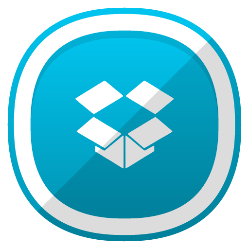 Dropbox, Social Network Icon Free Of Free Cute Shaded Social Icons