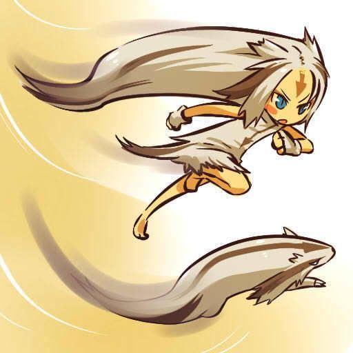 Anime Illustration Description Linoone Httpskwgeek