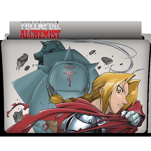 Fullmetal Alchemist Anime Folder Icon