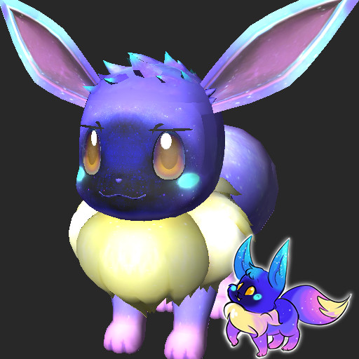 Cosmog Eevee Pokemon Let's Go! Skin Mods