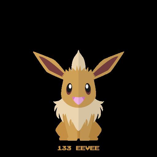Eevee, Kanto, Normal, Pokemon Icon