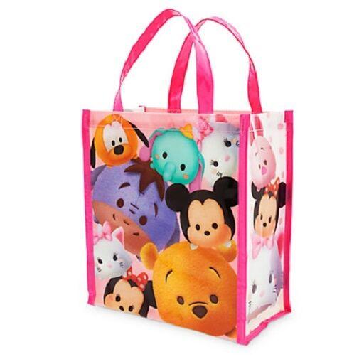 Tsum Tsum Tote Bag Minnie Mickey Pluto Dumbo Marie Pooh Eeyore Nwt