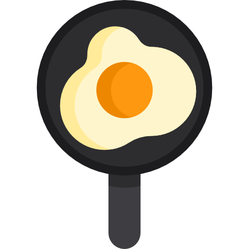 Fried Egg Icon Food And Drink Freepik
