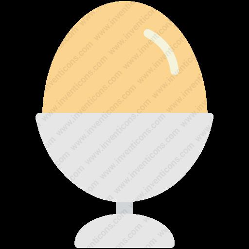Download Egg,holder,boiled Egg,egg Holder,food Icon Inventicons