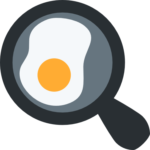 Fried Egg Free Vector Icons Designed