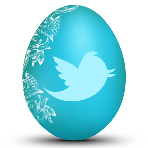 Twitter Easter Egg Icon Free Icons Download