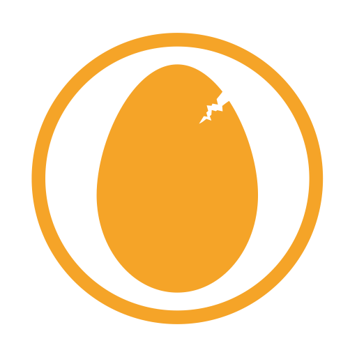 Eggs Allergy Amber Icon Allergy Iconset Erudus