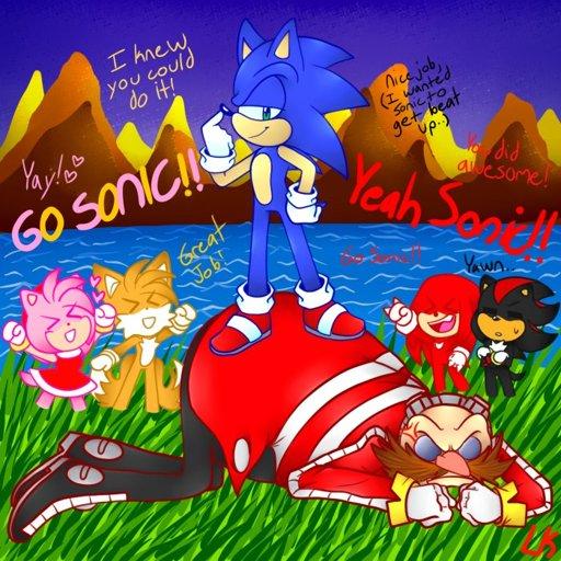 Sonic Vs Eggman! Sonic The Hedgehog! Amino