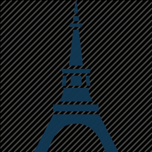 Eiffel Tower, France Monument, Landmark, Paris Monument Icon