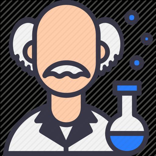Avatar, Einstein, Knowledge, Mad, Science, Scientific, Scientist Icon
