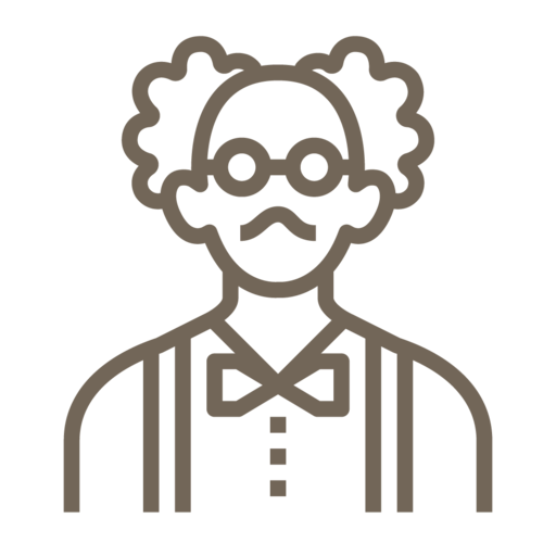 Male, Man, Avatar, User, People, Einstein, Glasses Icon Free