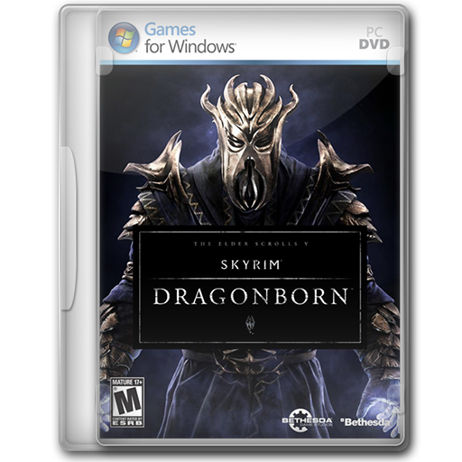 Elder Scrolls V Skyrim Dragonborn Icon