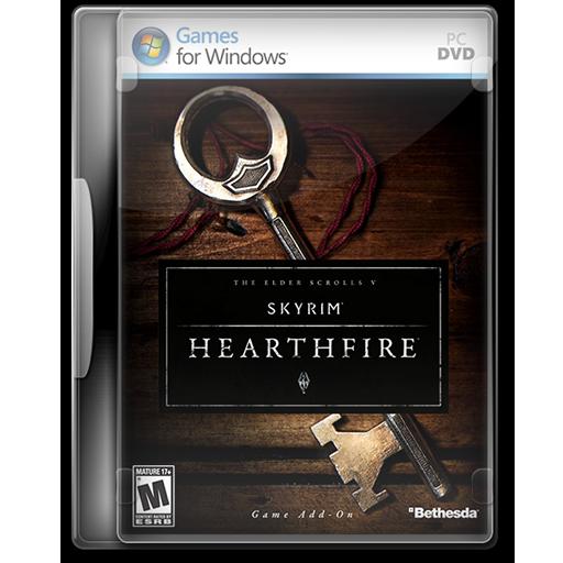 Elder Scrolls V Skyrim Hearthfire Icon