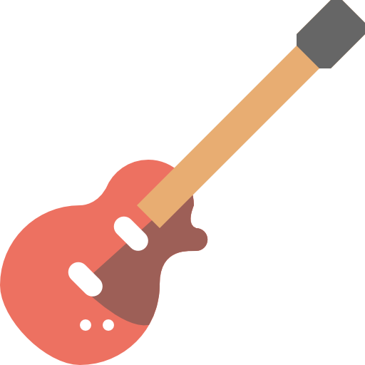 Electric, Guitar, Music, Bass Icon Free Of Free Flat Icons
