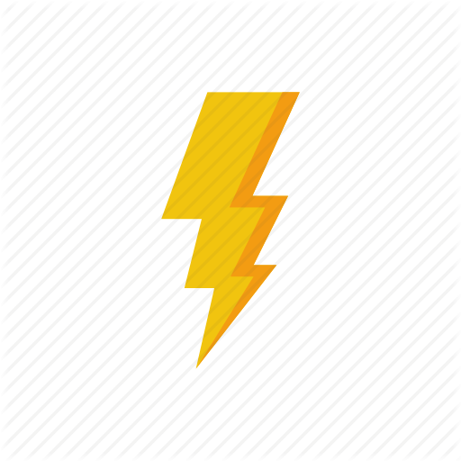 Electricity, Lightning, Nature, Weather Icon