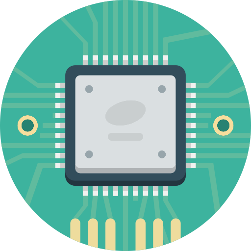 Chip, Cpu, Electronic Icon With Png And Vector Format For Free