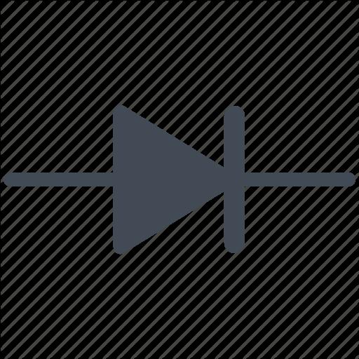 Circuit, Diagram, Diode, Electric, Electronic Icon