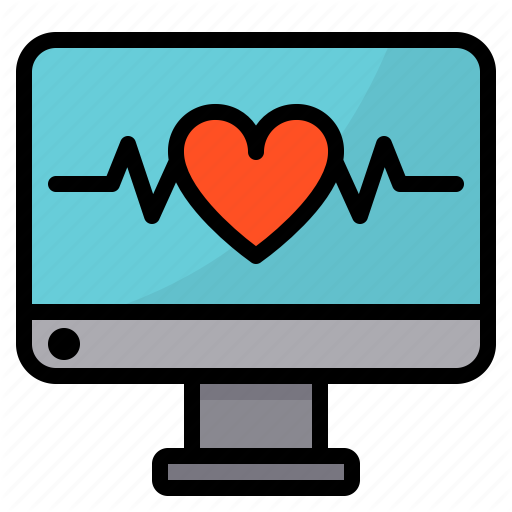 Care, Health, Healthcare, Heart, Medical, Rate, Report Icon