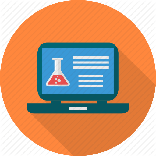 Computer, Electronic, Health, Medical, Record, Report, Research Icon