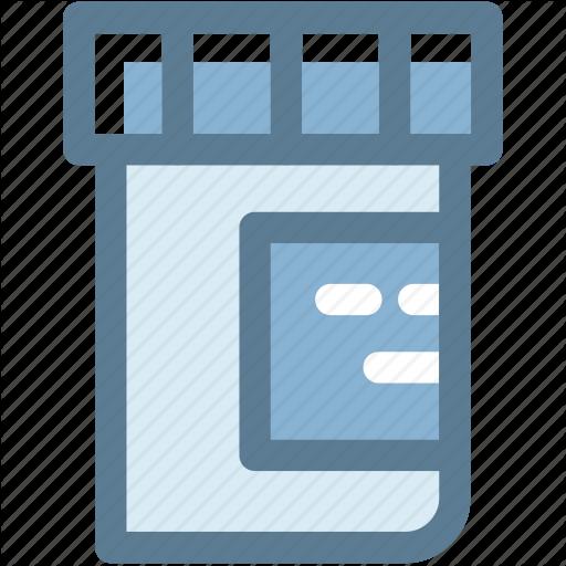 Drugs, Medical, Medicine Bottle, Medicine Jar, Pills, Syrup Icon