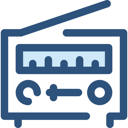 Radio, Technology, Electronic, Electronics, Vintage, Music Icon