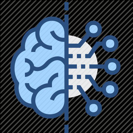 Artificial, Brain, Electronics, Intelligence, Technology Icon