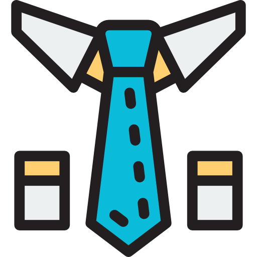 Business, Tie, Clothing, Accessory, Fashion, Elegant Icon