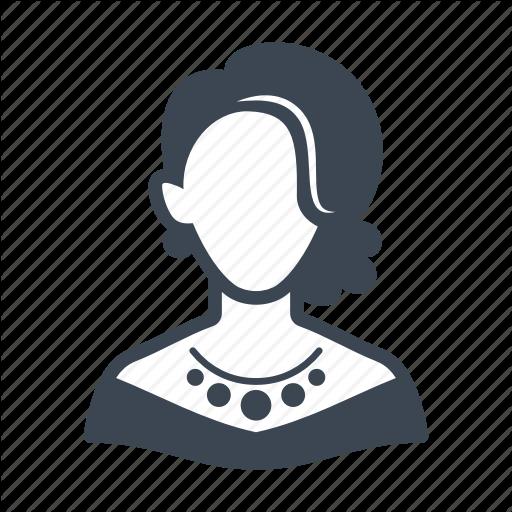 Avatar, Elegant Woman, User, Woman Icon