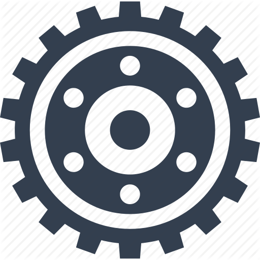 Element, Gear, Machine, Motion Icon