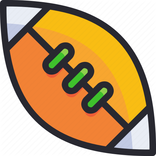 Exercise, Hobby, Rugby, Sport, Sport Element Icon