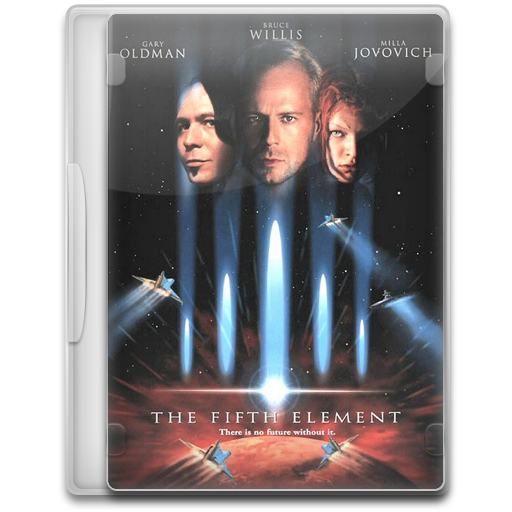 The Fifth Element Icon Movie Mega Pack Iconset